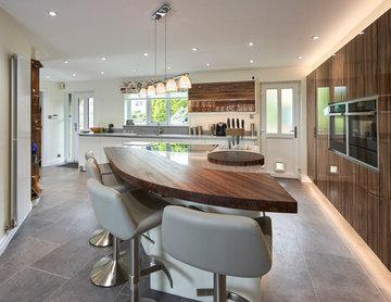British True Handles-less kitchen