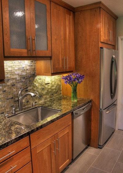 Contemporary Kitchen Brittan Heights Kitchen