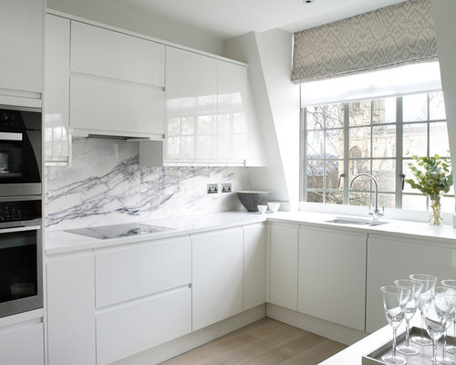 Porcelanosa White Kitchen Cabinets Ideas, Pictures, Remodel and Decor