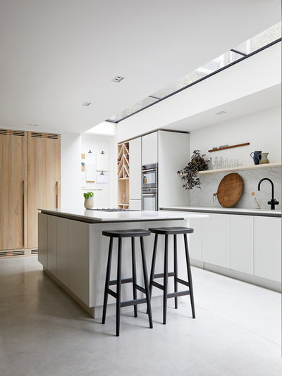 Contemporary Kitchen by Indie & Co.