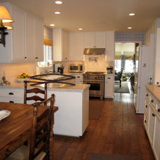 Traditional Kitchen by Barbara Grushow Designs LLC
