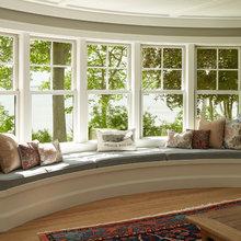 radius bay window