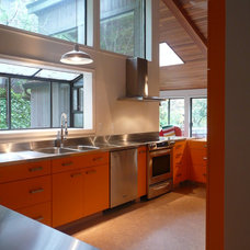 Midcentury Kitchen by Terri Wills, Dip. Building Technology