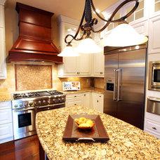 Mediterranean Kitchen by Clausen Residential