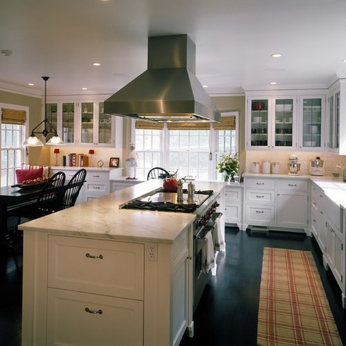 Kitchen With Center Island center island with stove | houzz