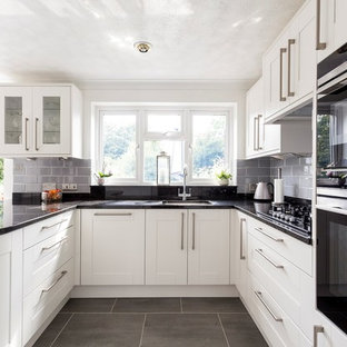 Broadoak Painted Kitchen in Chalk