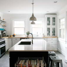 Transitional Kitchen by Emergent Construction