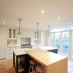 Contemporary Shaker Kitchen - Transitional - Kitchen - Manchester - by Tom Howley Kitchens