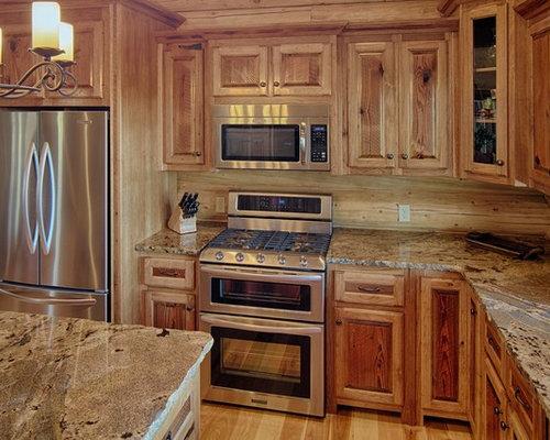 Log Cabin Kitchens Houzz