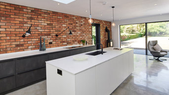 Broken plan industrial style kitchen – Cambridge, Cambridgeshire