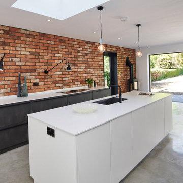 Broken plan industrial style kitchen – Cambridge, Cambridgeshire