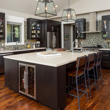 Contemporary Kitchen by D E Rink Construction