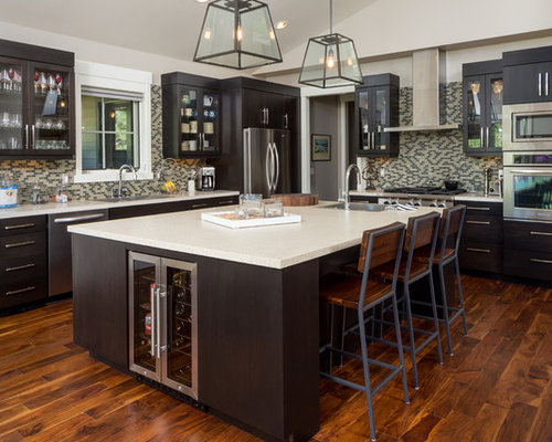Acacia wood floor home design ideas pictures remodel and for Acacia wood kitchen cabinets
