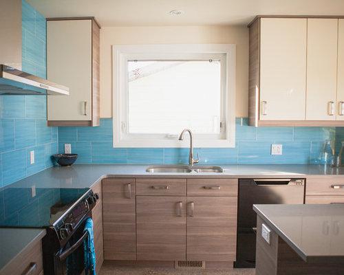 Contemporary kitchen design ideas renovations photos for Brammer kitchen cabinets