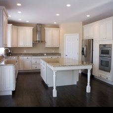 Traditional Kitchen by BROM Builders