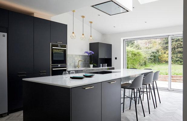 Contemporary Kitchen by Monita Cheung Design Ltd