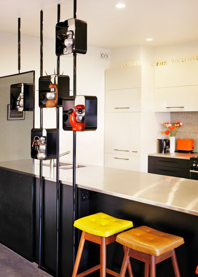 Midcentury Kitchen by Koush Design