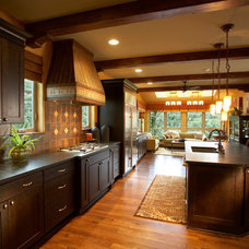 Traditional Kitchen by The SawHorse Company