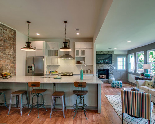 Eclectic nashville kitchen design ideas renovations photos for Style kitchen nashville reviews