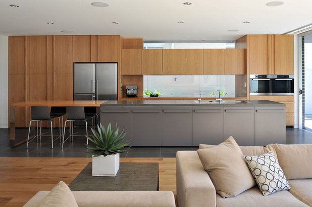 Contemporary Kitchen by form follows function