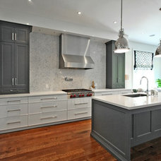 Transitional Kitchen by Olympic Kitchens