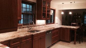 Brookfield Kitchen - Framless Cabinets