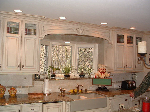 Traditional Kitchen by First Step Designs