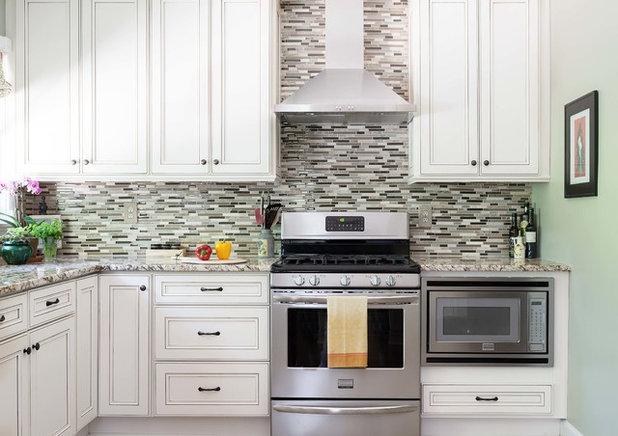 10 soluciones para encajar el microondas en la cocina Muebles de cocina para microondas