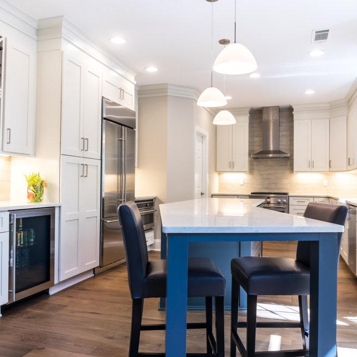 Brookhaven Transitional Kitchen Remodel