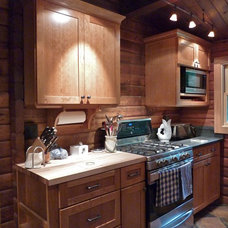 Traditional Kitchen by Brilliant! Lighting & Design