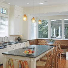 Traditional Kitchen by Jonathan R. Diamond Interiors