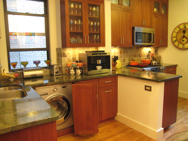 Traditional Kitchen by Caryn A. Rosen