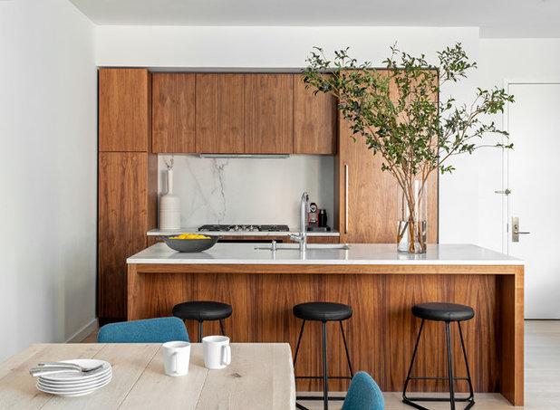 Contemporary Kitchen by Handin Browne Designs