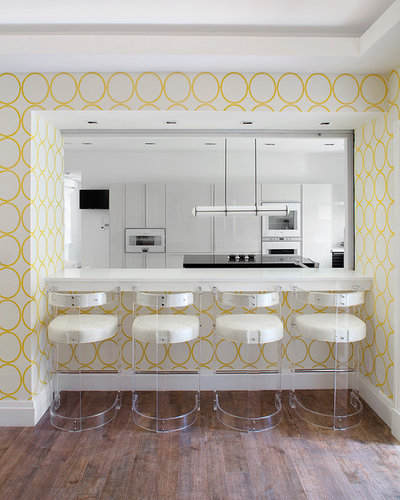 Nice Contemporary Kitchen by Cara Woodhouse Interiors LLC