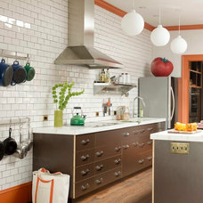 Transitional Kitchen by Rafe Churchill: Traditional Houses