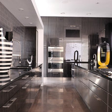 Industrial Kitchen by Key Residential