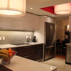 Contemporary Kitchen by Fellini Designs