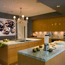 Contemporary Kitchen by BROWN DAVIS INTERIORS, INC.