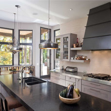Eclectic Kitchen by Demerly Architects