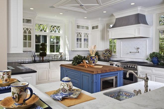 Traditional Kitchen by Brownhouse Design, Los Altos, CA