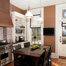 Traditional Kitchen by Platinum Construction LLC
