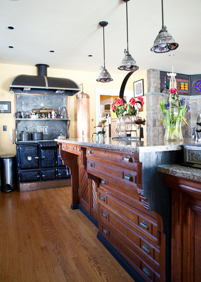 Superb Eclectic Kitchen By Theresa Fine