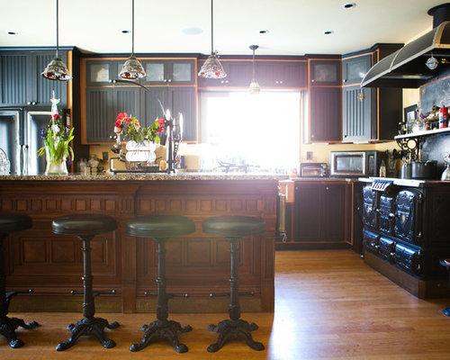 Eclectic kitchen idea in Boston