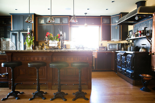 Eclectic Kitchen by Tess Fine