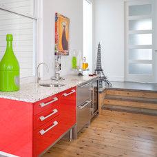 Contemporary Kitchen by Alan Mascord Design Associates Inc