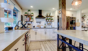 Brush Prairie Concrete Countertop/shower and dining table