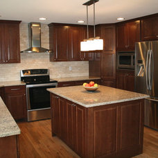 Transitional Kitchen by brittanysdesign