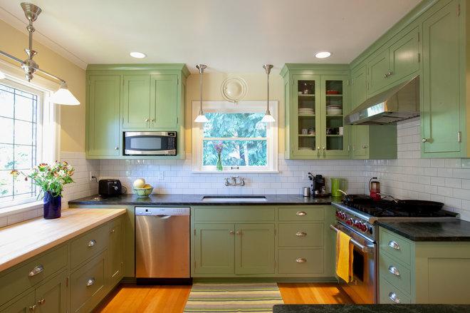 Craftsman Kitchen by S2 Builders