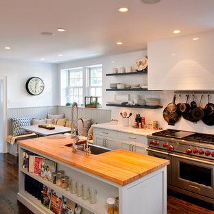 Kitchen Beadboard Wainscoting | Houzz on french country kitchen backsplash ideas, green kitchen walls ideas, unique kitchen backsplash ideas, tile kitchen walls ideas, ikea kitchen wall ideas, kitchen wall covering ideas,