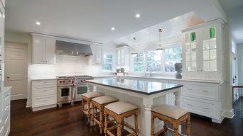 Bryn Mawr, PA Open Concept Snow White Kitchen